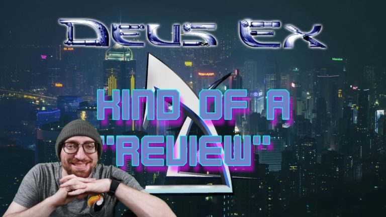 Read more about the article Kind of a Review of Deus Ex